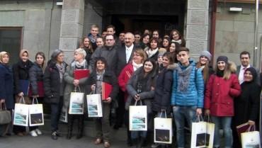 Delegacja szkoły z wizytą w Turcji w ramach programu Comenius
