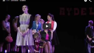 Zapowiedź musicalu 'Grease' w wykonaniu uczniów I LO