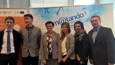 Sukces w Ogólnopolskim Konkursie m@tando!
