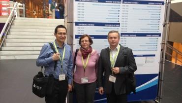 Dyrekcja ZSO Nr 10 na konferencji Matury Międzynarodowej w Hadze