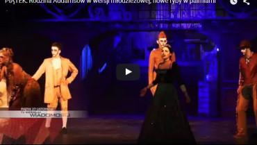 Uczniowie – aktorzy I LO grają 'The Addams Family'