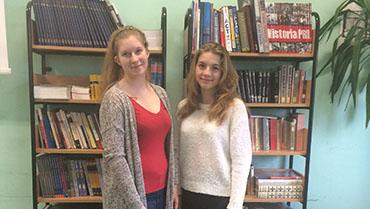 2 uczennice I LO w etapie okręgowym XLVI Olimpiady Literatury i Języka Polskiego