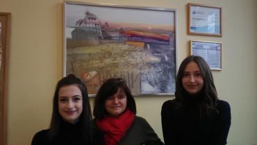 3 uczennice naszego Gimnazjum finalistkami Woj. Konkursu Przedmiotowego z jęz. angielskiego