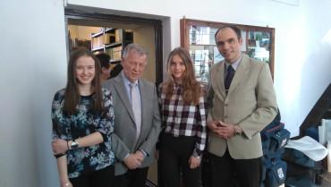 Dr T. Pyzik, N. Michalska i N. Naróg z wizytą u Profesora J. Miodka – OGLĄDAJ TVP POLONIA W SOBOTĘ!