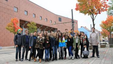Z wizytą w Europa Universität Frankfurt/Oder i Berlinie