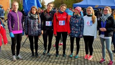 VIII miejsce sztafety dziewcząt w Finale Wojewódzkiej Licealiady Młodzieży Szkolnej