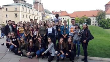 Wymiana młodzieży ze szkołą partnerską  Gymnasium Marianum  w Meppen, Niemcy