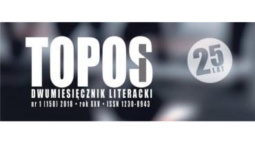 """DWUMIESIĘCZNIK LITERACKI """"TOPOS"""" O TWÓRCZOŚCI NATALII MICHALSKIEJ"""