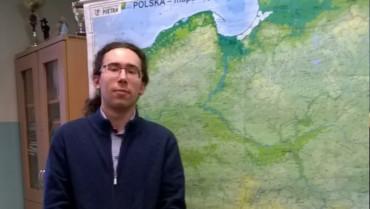 Andrzej Zięba z klasy III D w finale XLIV Olimpiady Geograficznej