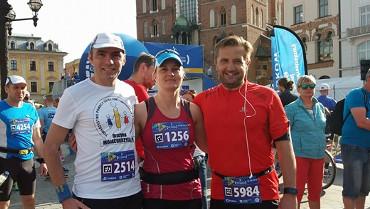 Silna reprezentacja nauczycieli I LO na 17. PZU Cracovia Maraton
