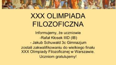 XXX Olimpiada Filozoficzna