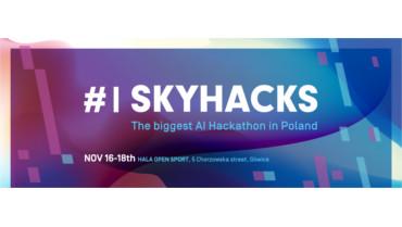 """Uczniowie """"jedynki"""" na #1 Skyhacks"""