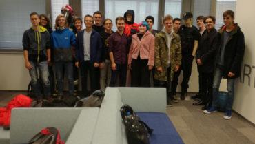Uczniowie klas IB odwiedzili siedzibę firmy Motorola Solutions