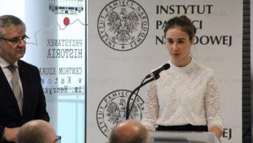 Milena Tomaszek laureatką konkursu historycznego