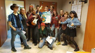 Młodzież naszej szkoły z wizytą w Hospicjum