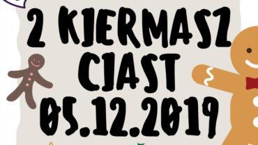Kiermasz ciast 05.12.2019