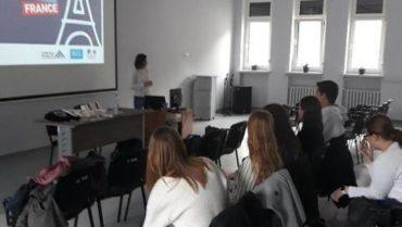 Nasi uczniowie na Dniach Campus France – Studia we Francji