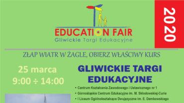 Gliwickie Targi Edukacyjne – 25.03.2020 r.