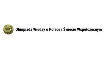 Adam Kancy w zawodach centralnych Ogólnopolskiej Olimpiady Wiedzy o Polsce i Świecie Współczesnym