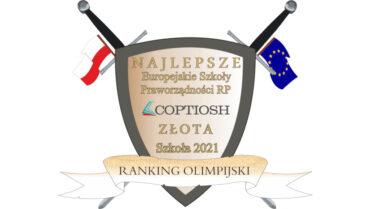 Kolejny sukces uczniów i nauczycieli naszej szkoły – uzyskaliśmy ponownie status ZŁOTEJ EUROPEJSKIEJ SZKOŁY PRAWORZĄDNOŚCI RP 2021 r.