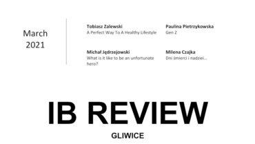 Zachęcamy do lektury Nowy numer IB Review 2021