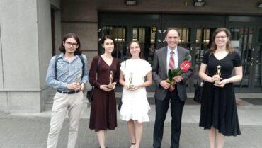 """XV Gliwicka Gala Młodych Talentów """"Zwiastuny"""" 2020-2021"""